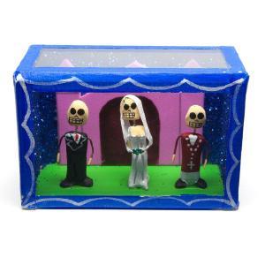 カラベラ人形のミニ飾り箱(23)|cinco