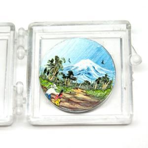 手書き絵コイン(ポポカラベトル山)|cinco