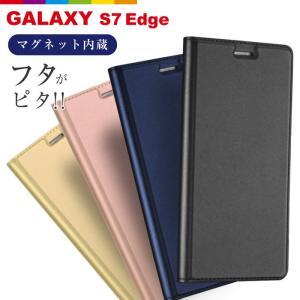 Galaxy S7 Edge ケース 手帳型 カバー Galaxy  ギャラクシー Dux Ducis レビューを書いて追跡なしメール便送料無料可|cincshop