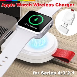 Apple Watch専用、ワイヤレス充電器。  【置くだけ充電】 毎日使うApple Watchだ...