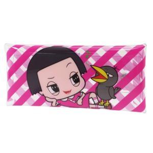 筆箱 クリア マルチケース NHK チコちゃんに叱られる 寝そべり マリモクラフト 8.5×19.5cmの商品画像|ナビ