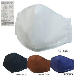 顔映え マスク 大人かわいい 衛生雑貨 専用ケース付き 立体マスク くっきり引き締めベーシックカラー Q-LIA|cinemacollection-yj