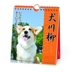 コーギー 犬川柳 週めくり カレンダー 2020 年 壁掛け & 卓上 スケジュール いぬ APJ 150×180mm 動物 写真 書き込み|cinemacollection