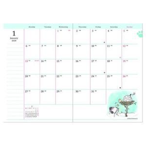 スヌーピー 手帳 2020 年 B6 ウィークリー ドライブイン ピーナッツ 12月始まり 週間 ダイアリー キャラクター APJ|cinemacollection|02