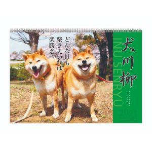 犬川柳 2021 カレンダー 壁掛け スケジュール いぬ APJ 動物写真 書き込み