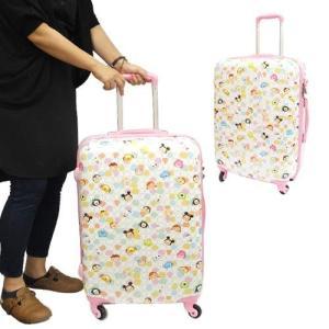 スーツケース Disney  TSUM TSUM/ツムツム 22インチキャリーバッグ ディズニー Disney  アートウエルド 大容量/53L 海外旅行カバン キャラクター|cinemacollection