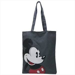 リバーシブルトート トートバッグ ミッキーマウス ディズニー 90周年 パイカットMickey アートウエルド 34×40×3cm 手提げかばんの商品画像|ナビ