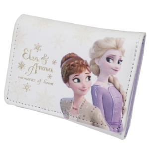アナと雪の女王2 三つ折り コンパクト 財布 ミニウォレット アナ&エルサ ディズニー グッズ キャ...