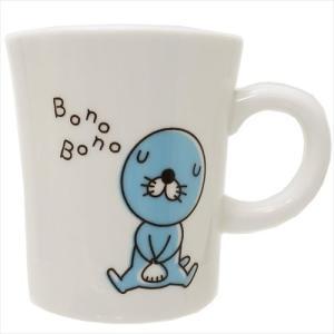 ぼのぼの 磁器製マグ シンプル マグカップ アニメキャラクタ...