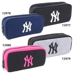 ペンポーチ ニューヨークヤンキース BOXペンケース 野球 クラックス 筆箱 入学準備|cinemacollection