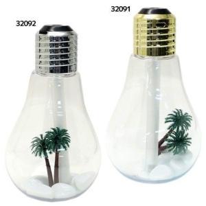 超音波 加湿器 Lamp Bulb 卓上電球型加湿器 クラックス グッズ USB 給電 インテリア|cinemacollection