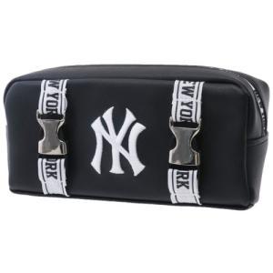 筆箱 ニューヨークヤンキース BOX ペンケース メタルバックル MLB クラックス|cinemacollection