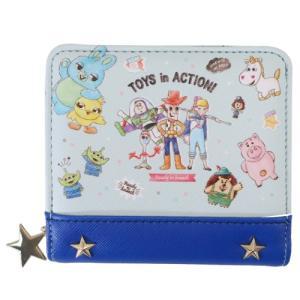 トイストーリー4 ディズニー 通販 二つ折り財布 ジュニア ウォレット スター クラックス