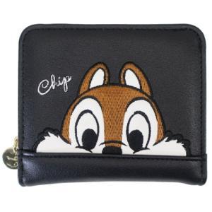 チップ&デール 通販 ジュニア ウォレット 二つ折り財布 フェイスアップ ディズニー グッズ