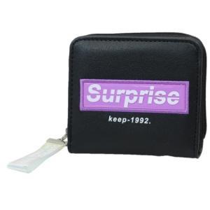 二つ折り財布 グッズ SURPRISE ジュニア ウォレット スラスマスコット付き クラックス