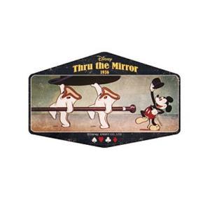 ステッカー ミッキーマウス トラベルステッカー 13 ディズニー エンスカイ 90周年記念 耐光 耐水 キャラクター|cinemacollection