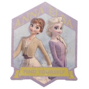 アナと雪の女王2 ビッグ シール トラベル ステッカー 4アナ&エルサ ディズニー グッズ|cinemacollection