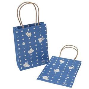 ミニ紙袋 リラックマ 和紙ミニ手提げ紙袋 2個入り 豆しぼり サンエックス フロンティア 16×7....