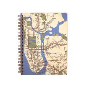 リング ノート グッズ State of New York MTA B6 リング ノート Map グ...