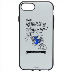 「メール便可」「iPhone8/7/6s/6ケース」 ドナルドダック アイフォン8 プロテクトカバー...