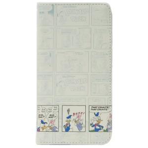 「メール便可」「iPhone X」 ドナルドダック アイフォン XR 手帳型 フリップカバー コミッ...