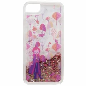 iPhone8ケース アナと雪の女王 2 アイフォン8グリッターカバー ディズニー アナ アイフォーン8 7兼用 4.7インチモデル|cinemacollection