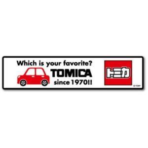 トミカ ロゴ ステッカー TOMICA ビッグ シール グッズ 車 ゼネラルステッカー|cinemacollection
