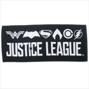 ジャガードロングタオル DCコミック キャラクター ジャスティスリーグ インロック 34×80cm アメコミ映画 グッズ cinemacollection