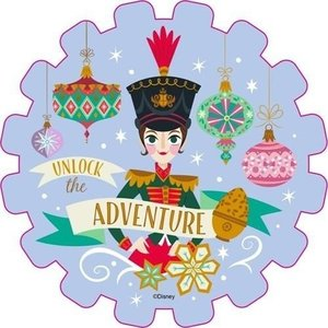 くるみ割り人形と秘密の王国 ビッグシール ダイカットステッカー2枚セット Bタイプ ディズニー イン...