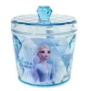 卓上収納 アナと雪の女王 2 キラキラ キャニスター ディズニープリンセス グッズ ブルーの画像