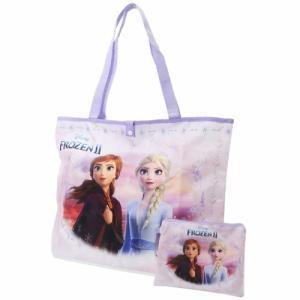 アナと雪の女王 2 グッズ エコバッグ ディズニー 折りたたみ ショッピングバッグ アナ&エルサ ケイカンパニー|cinemacollection