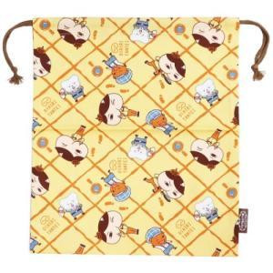 おしりたんてい 巾着袋 きんちゃくポーチ L 2020年 新入学 マルヨシ 31×35cm