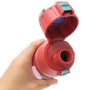 保冷専用 水筒 MARVEL マーベル ワンプッシュ ステンレスボトル BOXロゴ スケーター 800ml|cinemacollection|02