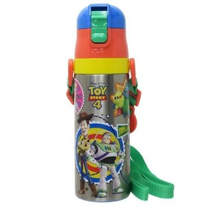 「水筒:保冷・保温機能付き」 トイストーリー 4 ディズニー グッズ 保冷 専用 水筒 ワンプッシュ...