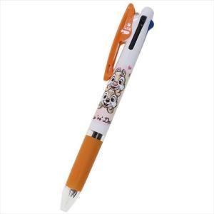 3色ボールペン チップ&デール ジェットストリーム ディズニー カミオジャパン 黒 赤 青 カラーペン cinemacollection