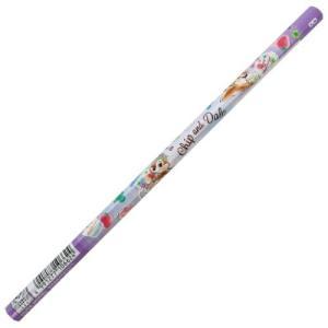 鉛筆 チップ&デール 六角軸 かきかたえんぴつ B ディズニー 雑貨 文具