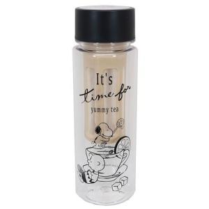スヌーピー 水出し クリアボトル 常温 水筒 ヤミーティー ピーナッツ グッズ キャラクター|キャラクターのシネマコレクション