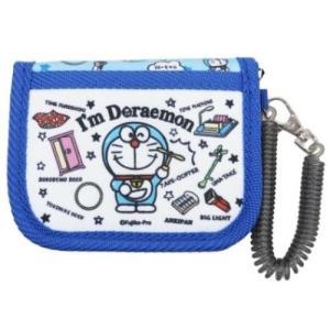 ドラえもん 子供用 財布 キャラクター グッズ コイル付き キッズ ウォレット サンリオ