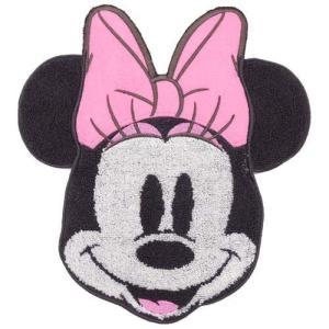 ディズニー Disney  ミニーマウス ハンドタオル ダイカットタオル フォーム キャラクター グッズ 丸眞 23×25cm 汗拭きタオル|cinemacollection
