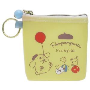 ポムポムプリン 10×10cm サンリオ ギフト雑貨 ミニポーチ キャラクター グッズ 松尾繊維工業...
