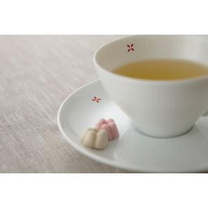 ティーカップ&ディッシュ  ティ―碗皿 青 MUSUBI 和モダン/デザイン食器 陶器製 テーブルウェア MADE IN JAPAN/日本製|cinemacollection|04
