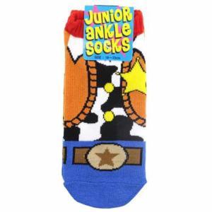SHERIFF シェリフ ジュニアアンクルソックス 18〜22cm かわいい子供用靴下 シネマコレクション メール便可|cinemacollection