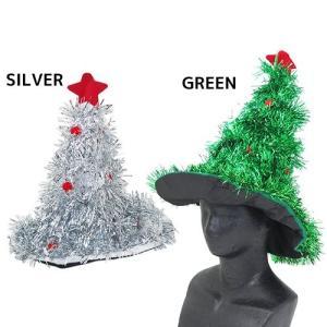 ハロウィン コスプレ帽子 クリスマス Xmasツリー きらきらハット オクタニコーポレーション パーティー雑貨 仮装衣装 おもしろ|cinemacollection