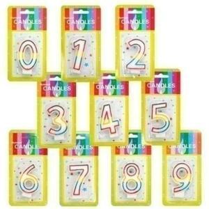 50%OFF HAPPY BIRTHDAY ナンバーキャンドル2nd 数字ろうそく お誕生日ろうそく