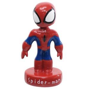 スパイダーマン スイング フィギュア 人形 グリヒル マーベル 陶器製 置物 インテリア雑貨