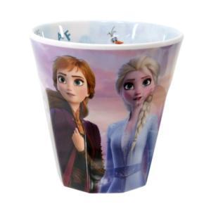 アナと雪の女王 2 メラミンカップ キャラクター グッズ Wプリント メラミンコップ A柄 ディズニー|cinemacollection