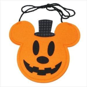 ミッキーマウス フェルトポシェットバッグ グッズ ハロウィン雑貨 キャラクター ディズニー S&Cコーポレーション 21×17.6cm|cinemacollection