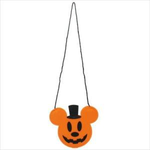 ミッキーマウス フェルトポシェットバッグ グッズ ハロウィン雑貨 キャラクター ディズニー S&Cコーポレーション 21×17.6cm|cinemacollection|02
