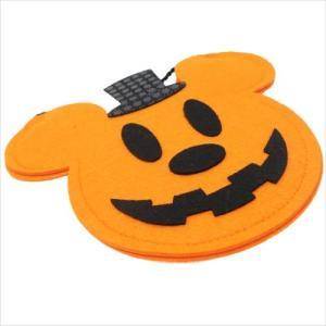 ミッキーマウス フェルトポシェットバッグ グッズ ハロウィン雑貨 キャラクター ディズニー S&Cコーポレーション 21×17.6cm|cinemacollection|03