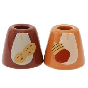チップ&デール グッズ ペア 歯ブラシスタンド 2個セット 洗面用具 ディズニー キャラクター 三郷陶器 cinemacollection